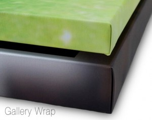 Gallery Wrap Front1 300x237 Showing Your Images ~ Wall Displays Part I